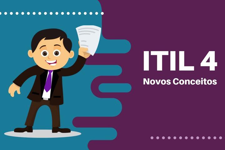 Homem segurando um certificado da ITIL 4