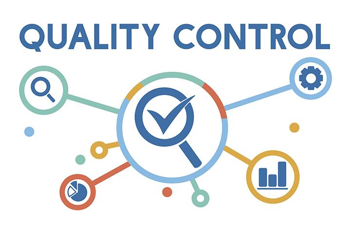 Elemento indicando controle de qualidade ISO 27001